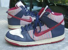 new concept 3ba88 56527 2005 Nike Dunk High-Red White Blue-Size 14 309432-161-FAST