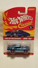 Hot Wheels 2005 Mattel Toy Fair Exclusive Oldsmobile Ice Blue Olds 442!