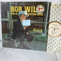 Bob Wills King Of Western Swing- MCA 543 VG++/VG++ Country Record LP