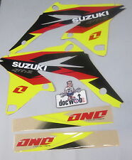 Suzuki Rmz250 2010-2016 One Industries Delta Radiador Sudario gráficos Kit 1g16