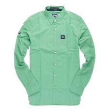 Camisas y polos de hombre verdes Superdry