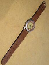vecchio orologio da polso Japan Movement stainless steel back Metal case bezel