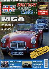 British Classic Cars 2006 3/06 MGA MGC Lagonda Rapide Triumph Stag Mini Cooper S