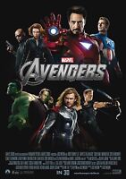 Avengers - A4 Glossy Poster - Film Movie Free Shipping #967