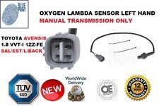 FOR TOYOTA AVENSIS 1.8 VVTI 1ZZ-FE OXYGEN LAMBDA SENSOR LEFT HAND DRIVE MANUAL