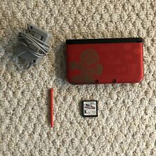 Nintendo 3DS XL With New Super Mario Bros2/Charger/4GB Card/No Stylus/Mario Kart