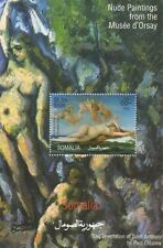 NUDE PAINTINGS FROM THE MUSEE D'ORSAY FRENCH ART MUSEUM MNH STAMP SHEETLET