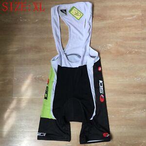 Men's Gel Padded Cycling Shorts Bib Shorts Lycra Biking Knickers Bibs Size XL