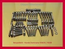 HONDA DOMINATOR nx650 NX 650 motore viti v2a Set di viti in acciaio inox