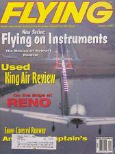 Flying Magazine (Jan 2000) (Flying IMC, King Air review, Reno, NTSB Data)