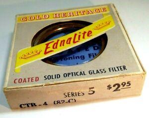 Ednalite series 5 V Lens filter drop in type 30mm OD CTB-4 82-C Light Blue cool