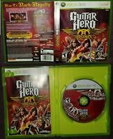 Guitar Hero Aerosmith (Microsoft Xbox 360, 2008) Complete