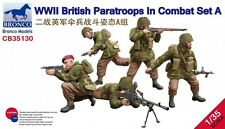 Bronco Models 1/35 WWII British Paratroops in Combat Set A (5 Figures)
