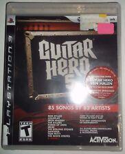 Guitar Hero 5 (Sony PlayStation 3, PS3, 2009) BRAND NEW