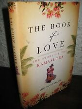 THE BOOK OF LOVE James McConnachie KAMASUTRA 1st Edition HINDUISM Sex