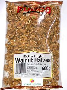 EXTRA LIGHT WALNUT HALVES - AKHROT - FUDCO - 600g