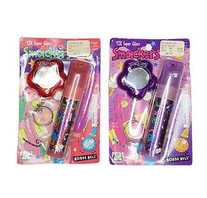 (2) RARE Lip Smackers Y2K Super Gloss w/ Mirror BFF Midnight Berry Blast NEW