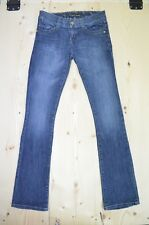 Guess Jeans Stretch Medium Wash Faded Distressed Size 26 Women's