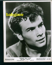 HORST BUCHHOLZ VINTAGE 8X10 PHOTO HANDSOME PORTRAIT 1957 TEENAGE WOLF PACK