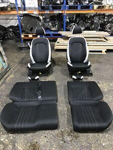 2009-2012 SEAT IBIZA 6J CUPRA 3 DOOR COMPLETE INTERIOR SEATS WHITE & BLACK