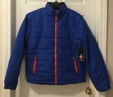 Surplus Men's Puffer Winter Coat Ski Jacket Blue *U Pick Size - M, L, XL, 2XL