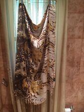 Tolani Multi Colored Earth Toned Scarf 100%Silk