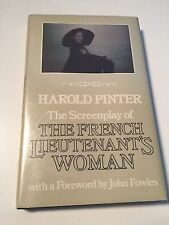 THE FRENCH LIEUTENANT'S WOMAN Harold Pinter screenplay INSCRIBED by John Fowles