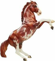 BREYER 70TH ANNIVERSARY CHESTNUT PINTO FIGHTING LIMITED ED., #1 TRADITIONAL 1825