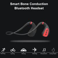 Bone Conduction Headset Bluetooth 5.0 Wireless Open ear Headphone Sport Earbuds