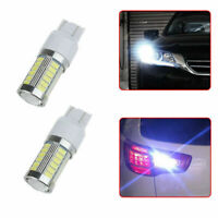 2* Car Auto T20 7443 Super White Back Up Reverse LED Lights Bulb Car Accessories