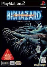 USED PS2 Resident Evil Outbreak