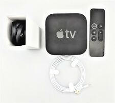 Apple TV 5th Generation A1842 4K 64GB w/Siri Remote MP7P2LL/A w/ Box Good Shape