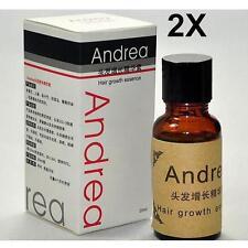 2x Andrea Hair Growth Essence Hair Loss Treatment ginger genseng raise dense O