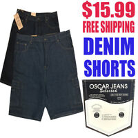 OSCAR Jeans Men's NWT Denim Shorts with Free Shipping MSRP $59