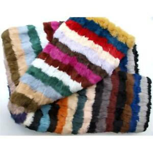 Fur Cover Bedspread Kanin Fur Bed Throw Couch Carpet Multicoloured Sofa