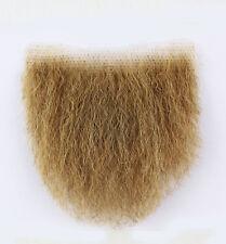 MakupArtist Blond Medium Sized Human Hair Merkin Female Male Pubic Toupee