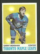 Garry Monahan Toronto Maple Leafs 1970-71 Topps Hockey Card #112 NM/M