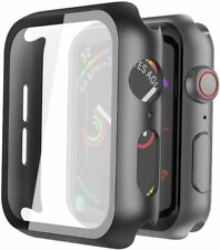 For Apple Watch Series 7 6 5  SE 38/40/42/44mm Full Cover Case +Screen Protector