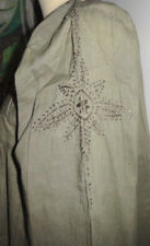 ROBE PALME XL 42 44 TUNIQUE ETE PLAGE HIPPIE CHIC VINTAGE RETRO INDIEN