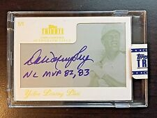2012 Tribute #DMU Dale Murphy Framed Yellow Printing Plate Autograph #1/1 SEALED