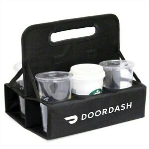New Doordash Official Foldable Drink Carrier 6 Cups of Beverage🥤Delivery Driver