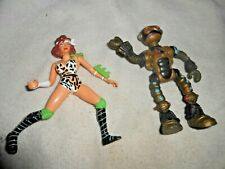 1990 TMNT MIRAGE PLAYMATES APRIL AND FUGITOID NICE COND SEE PICS