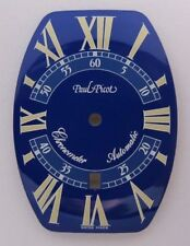 GENUINE PAUL PICOT Firshire 3000 Ref. 0751.S BLUE DIAL NOS 0751