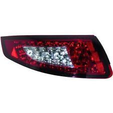 Coppia Fari Fanali Posteriori TUNING PORSCHE 911 serie 997 04-08 LED rosso trasp