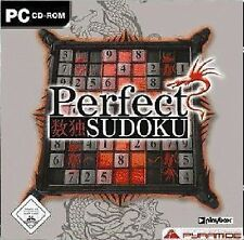 PERFECT SUDOKU - PC CD-ROM WinXP NEU&OVP LIEFERBAR