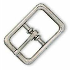 """Center Bar Buckle Nickel Plated 1/2"""" 1509-00 by Tandy Leather"""