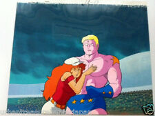 KINNIKUMAN ULTIMATE MUSCLE TERRYMAN ANIME PRODUCTION CEL & BACKGROUND