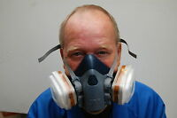 3M Paint Spray Respirator Mask *MAX PROTECTION* [06782/06783]