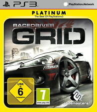 Sony PlayStation 3 ps3 juego Race Driver Grid
