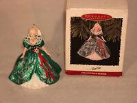Hallmark Keepsake Ornament, 1995, Holiday Barbie